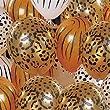 4 Animal Print Balloons
