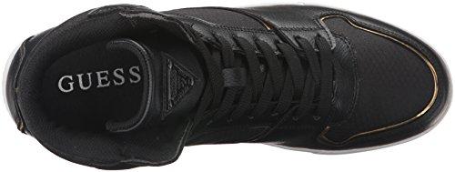 Devinez Mens Cavalier Mode Sneaker Noir