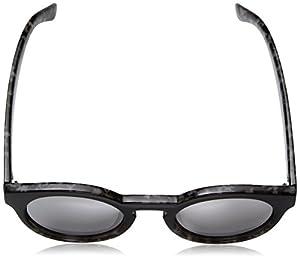 A.J. Morgan Hmm Rectangular Sunglasses, Black-Grey/Mirror, 60 mm