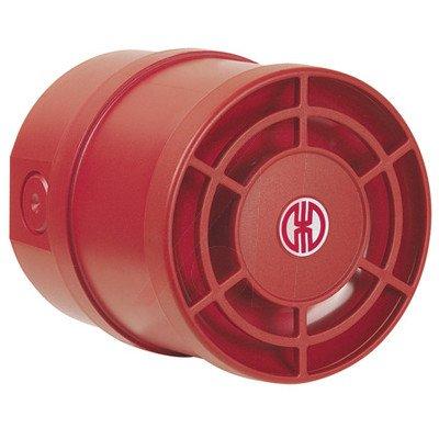 WERMA 14015050 Multitone Sounder WM 32 Tone 115dB 9-28VDC Red