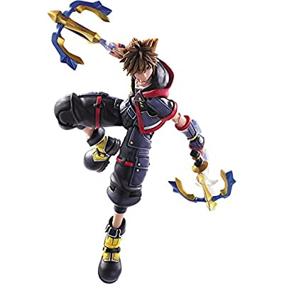 Square Enix Kingdom Hearts III: Sora Bring Arts Action Figure: Toys & Games