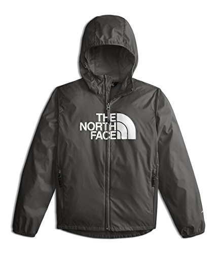 The North Face Youth Flurry Wind Hoodie - Graphite Grey - L