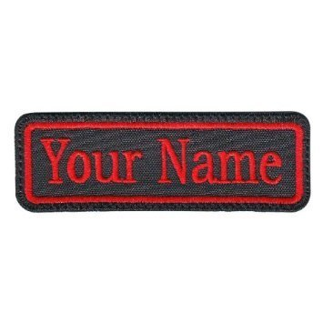 Rectangular Line Custom Embroidered Patch