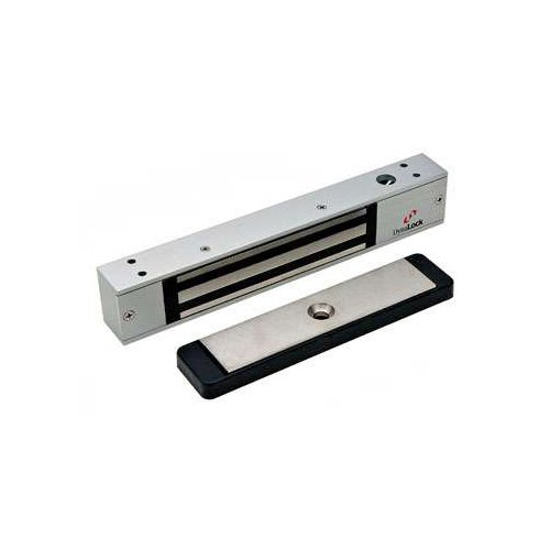 DynaLock 2511-DSM Mini-Mag Single Outswinging Door Electromagnetic Lock w/ Door Status Switch -