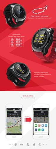 Amazon.com: TORTOYO S958 Smart Watch Phone Heart Rate ...