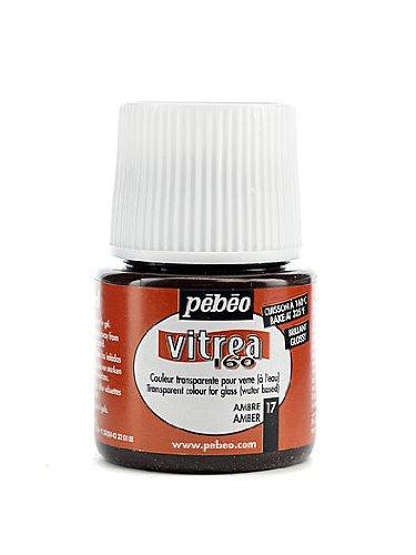 Pebeo Vitrea 160 Glass Paint amber gloss 45 ml [PACK OF 3 ()