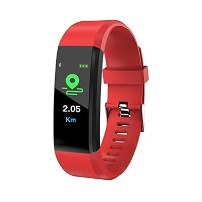 Kanzd Smart Wrist Band Sleep Sports Fitness Pedometer Bracelet Watch with Colorful UI
