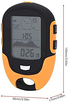 Multi-function Altimeter Altitude Meter Thermometer Outdoor Forest Travel LCD YK
