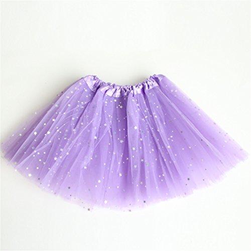 f3a6ca84b6 Rysly Girls Sparkle Tutus Princess Ballet Dance Layered Tulle Tutu Skirts,2-8T  Light