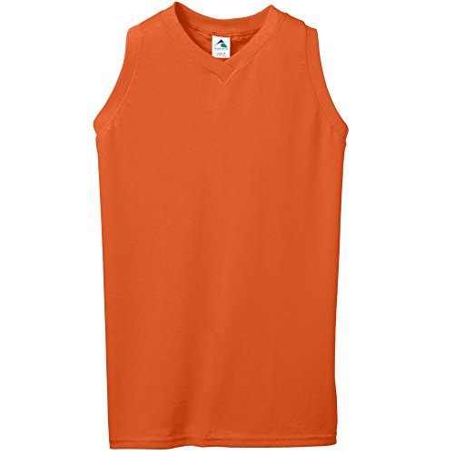 Augusta Sportswear WOMEN'S SLEEVELESS V-NECK POLY/COTTON JERSEY L ()