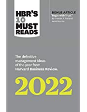 """HBR's 10 Must Reads 2022: The Definitive Management Ideas of the Year from Harvard Business Review (with bonus article """"Begin with Trust"""" by Frances X. Frei and Anne Morriss): The Definitive Management Ideas of the Year from Harvard Business Review"""