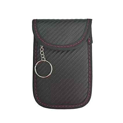 Car Key Signal Blocker Faraday Bag Keyless Fob RFID Blocking Pouch ...