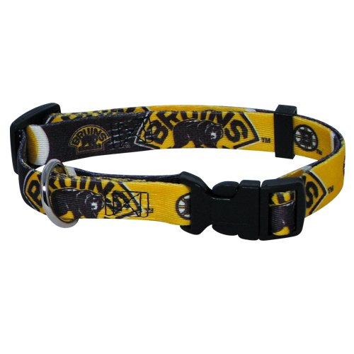 Hunter MFG Boston Bruins Dog Collar, Large