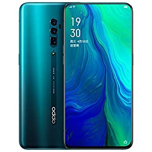 Oppo Reno 256GB 8GB 10x Zoom RAM GSM Only, No CDMA (Ocean Green)