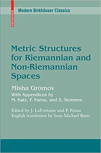Metric Structures for Riemannian and Non-Riemannian Spaces (Modern Birkhäuser Classics) Corrected Edition, Kindle Edition