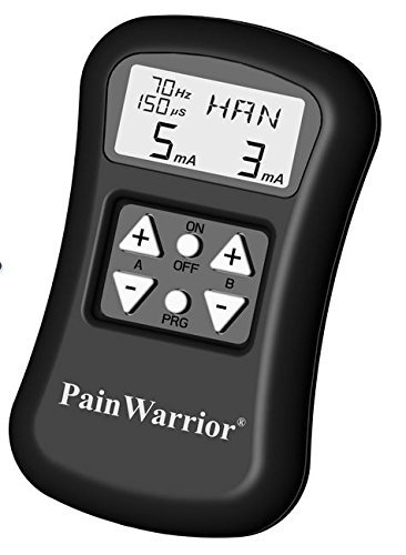 Pain Warrior TENS / EMS Combo Unit FDA Approved Over the Counter by PAIN WARRIOR/Pain Aellay