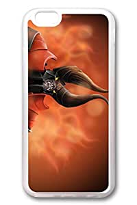 iPhone 6 Case - Crystal Clear Rubber Back Case Bumper for iPhone 6 Lucifer Dota 2 Doombringer Special Edition Clear Soft Rubber Back Case Cover for iPhone 6 4.7 Inches