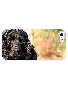 3d Full Wrap Case for iPhone 5/5s Animal Cute Black Do hjbrhga1544