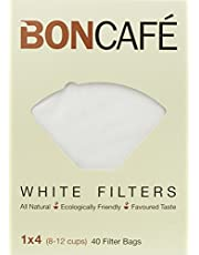 Boncafe Filterbags White, 1X4, 40 Count