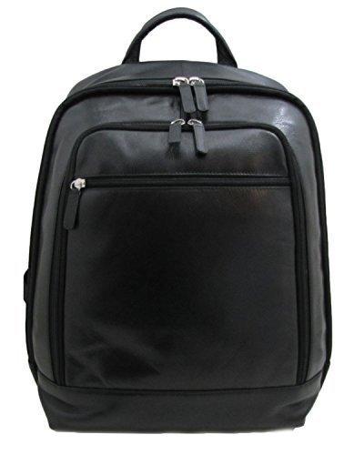 ILI Expandable Leather Backpack - Style 6508 [並行輸入品] B075PXXV1M