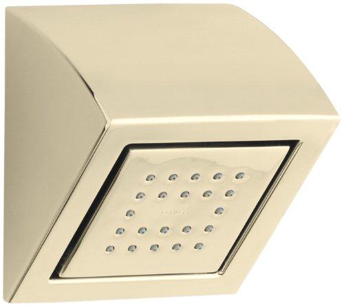 KOHLER K-8023-AF WaterTile 22-Nozzle Showerhead, Vibrant French (22 Nozzle Showerhead)