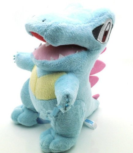 Pokemon Pikachu Totodile plush doll toy 6