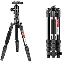Camera Tripod, Beschoi M255 Professional 60 Inch Lightweight Magnesium Aluminum Travel Tripod Monopod With Ball Head / Quick Release Plate for Canon, Nikon, Sony, Samsung, Olympus, Panasonic & Pentax