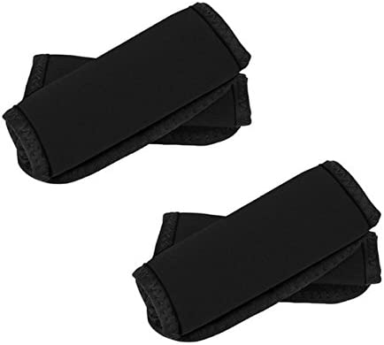 Travelon Luggage Handle Wrap - 2 Pack (Black)