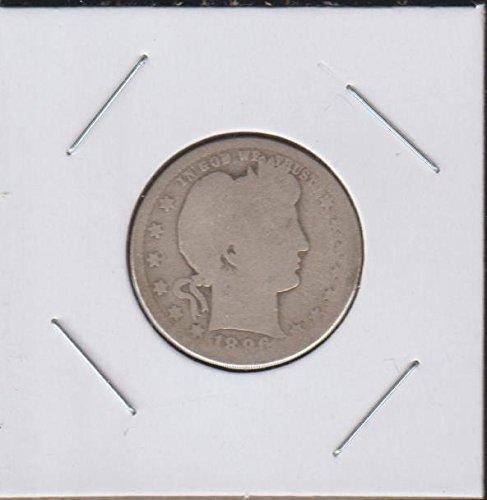 1896 O Barber or Liberty Head (1892-1916) Quarter Good