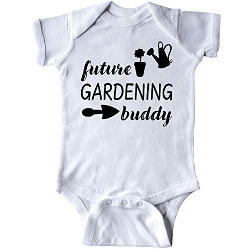 inktastic - Future Gardening Buddy Infant Creeper 6 Months White 34c62 ()