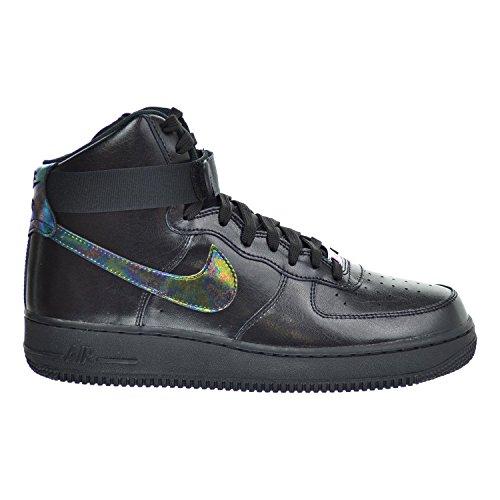 black air force ones mid top - 8