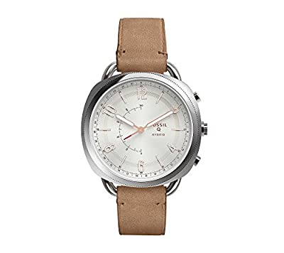 Fossil Hybrid Smart Watch - Q Accomplice Sand Leather from Fossil