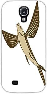 Snoogg Peces Voladores Estilo Retro Diseñador Protectora Volver Funda Para Sa...