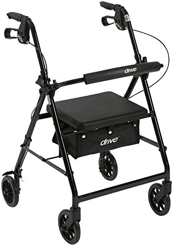 Drive Medical Aluminum Rollator Removable