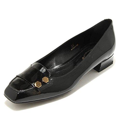 donna 1615G ballerina T shoes women BOTTONI TOD'S verde SS grigio scarpa ESAGONO 20 rrqwax8