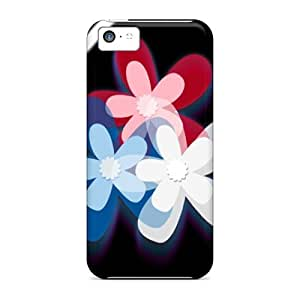Top Quality Protection Multiflwrs Case Cover For Iphone 5c