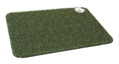 "Clean Machine Scraper Door Mat 17-1/2"" X 23-1/2"" Green Astroturf"