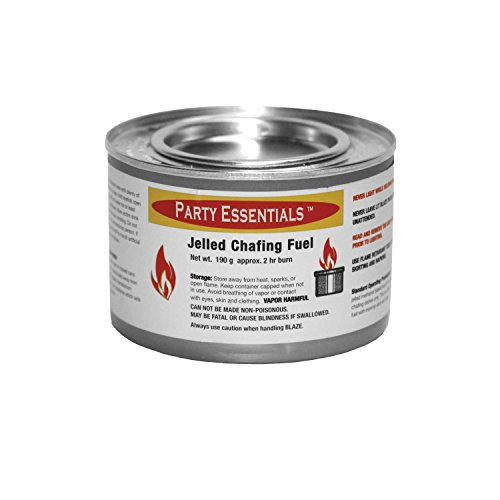 Party Essentials Chafing Dish Jelled Methanol Warming Fuel, 12-Pack by Party Essentials (Image #1)