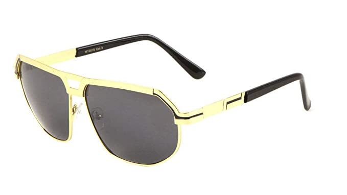 Amazon.com: Gazelle Kingpin Flat Top Luxury Aviator ...