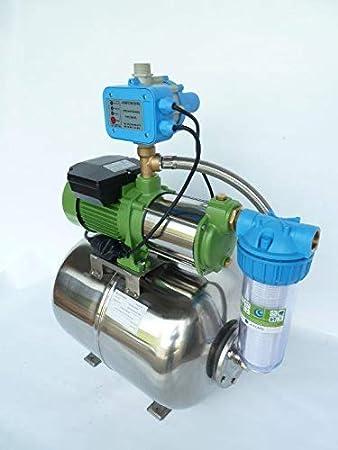 Trockenlaufschutz Hauswasserwerk 50 Liter mit 1300W Pumpe mit Pumpensteuerung