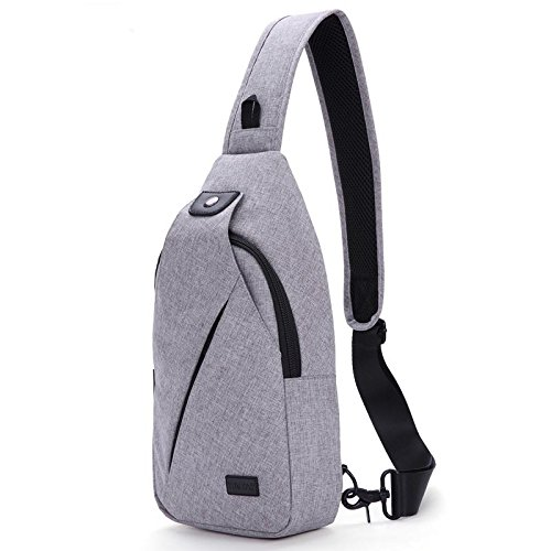 white grey fabric large bag travel Chest Messenger chest and wear waterproof bag men waterproof bag women riding nylon resistant capacity UWdHxHCn