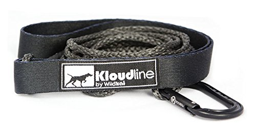 black-kloudline-minimus-ultralight-dog-leash-4-or-6-foot-for-hiking-or-running-lightweight-and-stron