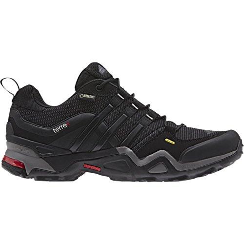 Adidas Formotion Shoes - Adidas Women's Terrex Fast X Hiking Shoes, Carbon / Black / Light Scarlet, 9.5 D(M) US