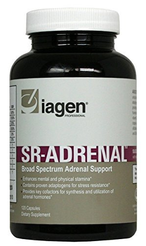 lagen Naturals | SR Adrenal Support | Enhanced w/ Vitamin C, B6 for Increased Stamina; Promotes Fatigue Relief, Adrenal Function & Immune System Support | 120 Veg Capsules | USA Made