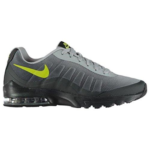 Nike Mens Chaussures De Course Dimpression Air Max Invigor Gris Foncé / Gris Loup / Noir