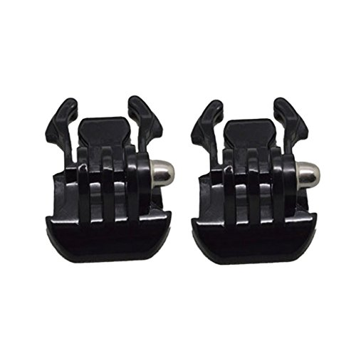 Jili Online 2 Pieces Base Mount Adapter Quick Release Buckle for GoPro Hero 1 2 3 3+ ()