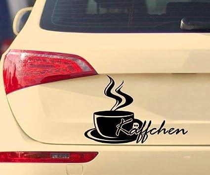 myDruck-Store Pegatina de Coche Kaeffchen Taza Café Coffee Cafe ...
