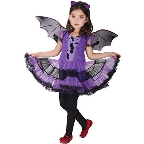 Jxstar Girls Dress Up Bat Dress Halloween Costume