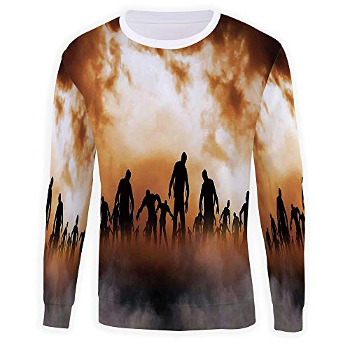 Crewneck Sweatshirt Halloween Decorations Sweater - Premium Quality TV Shirt Sweatshirt]()