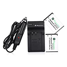 Powerextra 2 Pack Replacement Canon LP-E17 Battery High Capacity 1350mAh With Charger for Canon EOS M3,EOS M5, EOS Rebel T6i, EOS Rebel T6s, EOS 750D, EOS 760D, EOS 8000D, Kiss X8i Digital SLR Camera